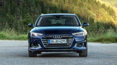 Audi A4 Avant estate front static