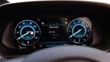 Hyundai i10 hatchback digital instrument cluster