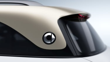 2023 Smart SUV - rear roofline
