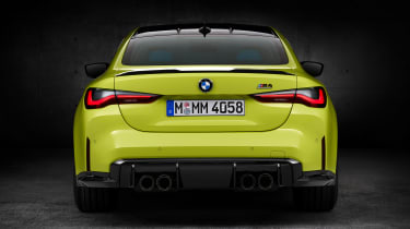 2021 BMW M4 Competition Coupe - rear view