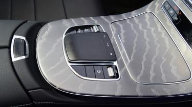 Mercedes E-Class hybrid centre console