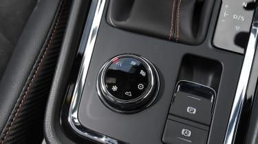 Cupra Ateca SUV - mode selector