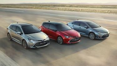 2019 Toyota Corolla range