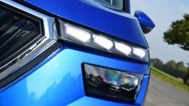 Skoda Kamiq SUV LED daytime running lights