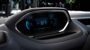 Peugeot e-Rifter digital instrument cluster