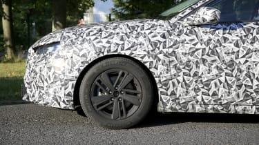 2021 Peugeot 308 prototype - front quarter close up