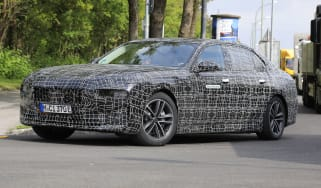 BMW 7 Series prototype