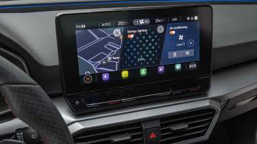 2020 SEAT Leon - infotainment screen