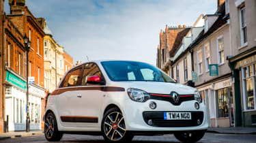 The quirky Renault Twingo is very stylish and can be customised an a variety of ways