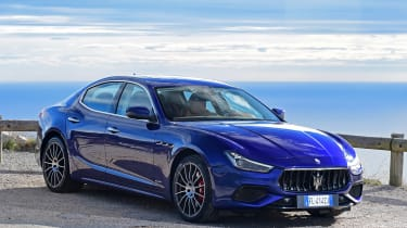 There's no denying the Ghibli's Italian styling and rarity is a major selling point over its German and British rivals
