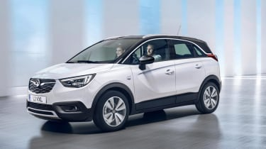 It'll compete with the Nissan Juke, the Peugeot 2008 and the Renault Captur – although it's slightly larger than those cars