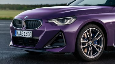 2021 BMW 2 Series Coupe - front