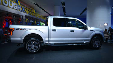 Ford F-150 pick-up truck 2014 front quarter static