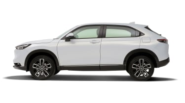 2021 Honda HR-V hybrid SUV - side view