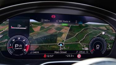 Audi S5 Sportback digital Virtual Cockpit