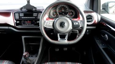 Volkswagen up! GTI hatchback interior