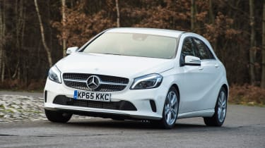 The Mercedes A-Class is a premium hatchback which is radically different to its taller predecessor
