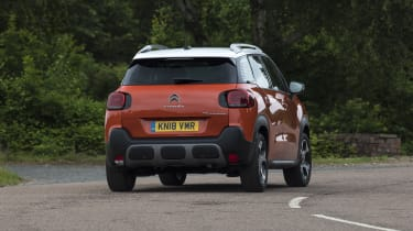 Citroen C3 Aircross - rear 3/4 dynamic