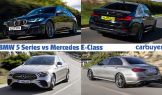 BMW 5 Series vs Mercedes E-Class