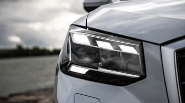 Audi Q2 SUV headlights
