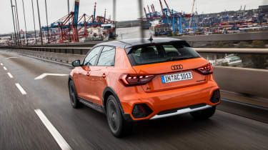 Audi A1 Citycarver hatchback rear 3/4 tracking