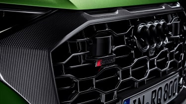 Audi RS Q8 grille