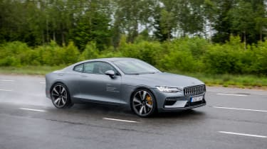 2019 Polestar 1 prototype - passing dynamic