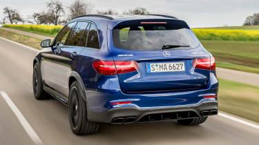 The standard GLC 63 has 469bhp, while the GLC 63 S gets 503bhp