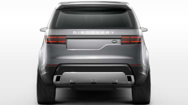 Land Rover Discovery SUV 2015 rear