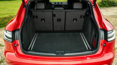 Porsche Macan SUV boot