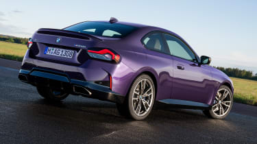 2021 BMW 2 Series Coupe - rear 3/4 static