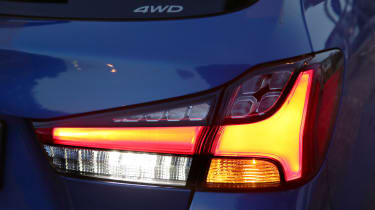 2020 Mitsubishi ASX rear light