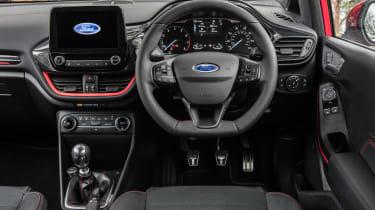 Ford Fiesta hatchback interior