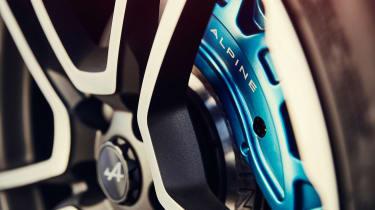 Alpine A110 coupe brakes