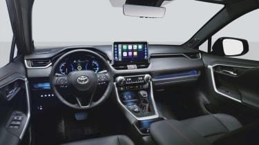 Toyota RAV4 Plug-in Hybrid interior
