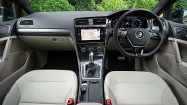Volkswagen Golf hatchback interior