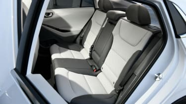Hyundai Ioniq Plug-in Hybrid rear seats