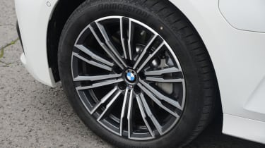 BMW 330e saloon allo wheels