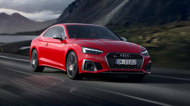 Audi S5 Coupe front driving