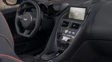 Aston Martin DBS Superleggera Volante centre console