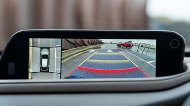 Mazda CX-30 SUV rear-view camera