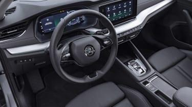 2020 Skoda Octavia steering wheel