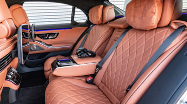 Mercedes S-Class saloon rear seats