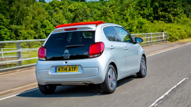 Other rivals for the C1 include the Skoda Citigo, VW up! and SEAT Mii