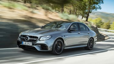 Enthusiasts are sure to lust after the Mercedes-AMG E63 saloon, with 563bhp and four-wheel-drive for the first time ever