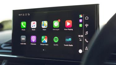 Audi S4 Avant estate Apple CarPlay
