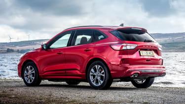 Ford Kuga Plug-in Hybrid rear 3/4 static