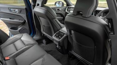Volvo XC60 SUV rear seats