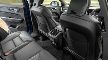Volvo XC60 SUV rear seats