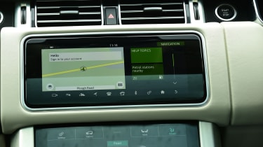 2020 Range Rover Vogue P400 - Sat nav